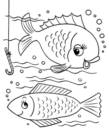 Fish coloring pages🌑fosterginger pinterest com🌑more pins like this one at