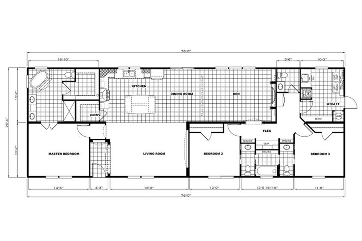 clayton home floor plan manufactured homes modular