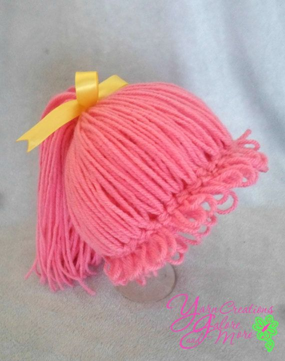 Girl Minion Hat by YarnCreationsGalore on Etsy