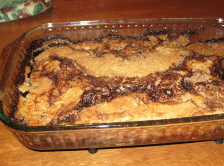 Chocolate Cobbler -- omgoodness.....this sounds WONDERFUL.