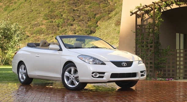 Love this car... only in a custom light pink pearl finish  Google Image Result for http://www.productioncars.com/send_file.php/toyota_solara_sle_conv_white_2007.jpg