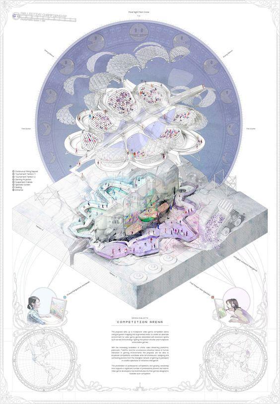 如何画出高端大气的建筑设计方案分析图? - 建筑学 - 知乎