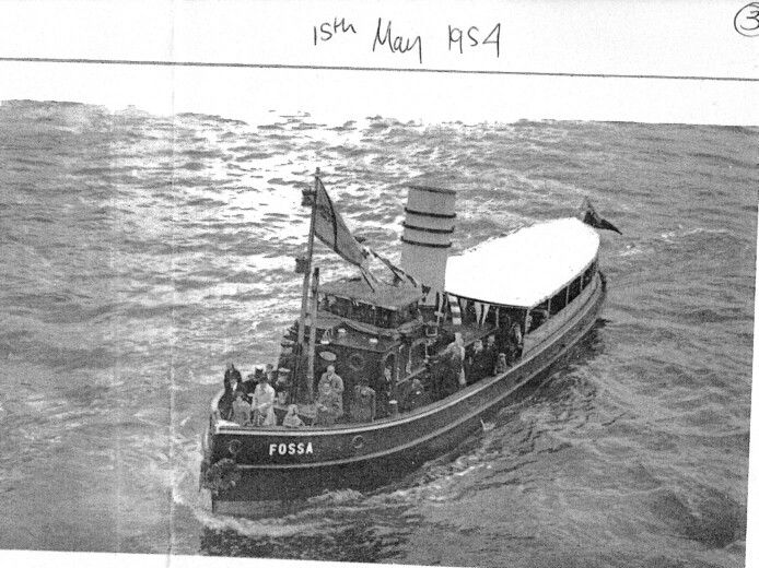 MT Fossa II - Princess Regent returns to London 1954