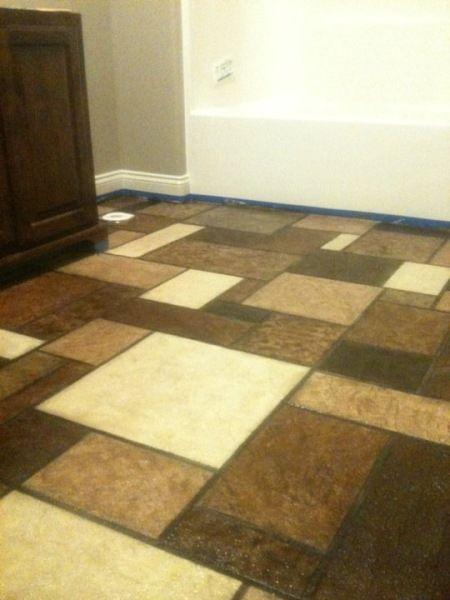 Ashlar Tile Pattern Overlay Lafayette La Louisiana