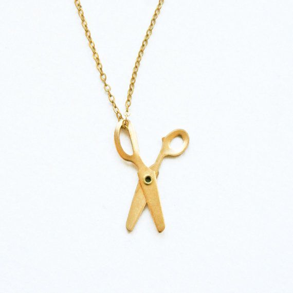 Little Scissors Necklace - cute gift for a crafty friend.