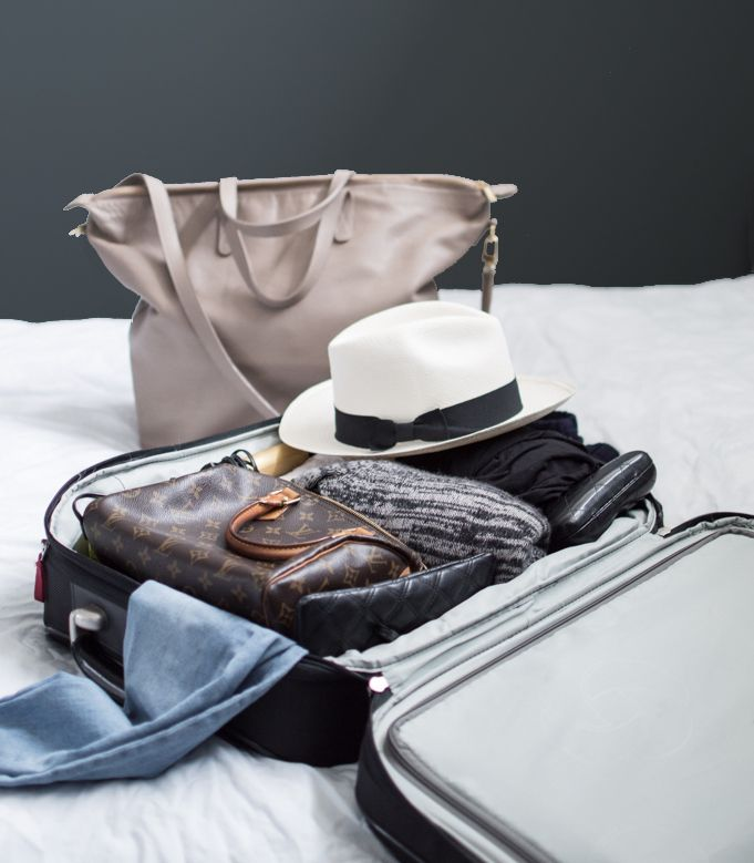 The exact packing secrets I use to travel without ever checking luggage, and breeze through the airport stress free!
