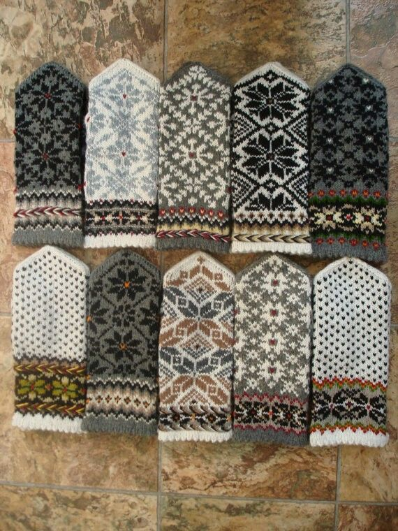 latvian mittens by mittens socks shop on etsy