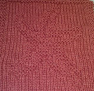 Knitted Starfish Pattern : Starfish, Free knitting and Dishcloth on Pinterest