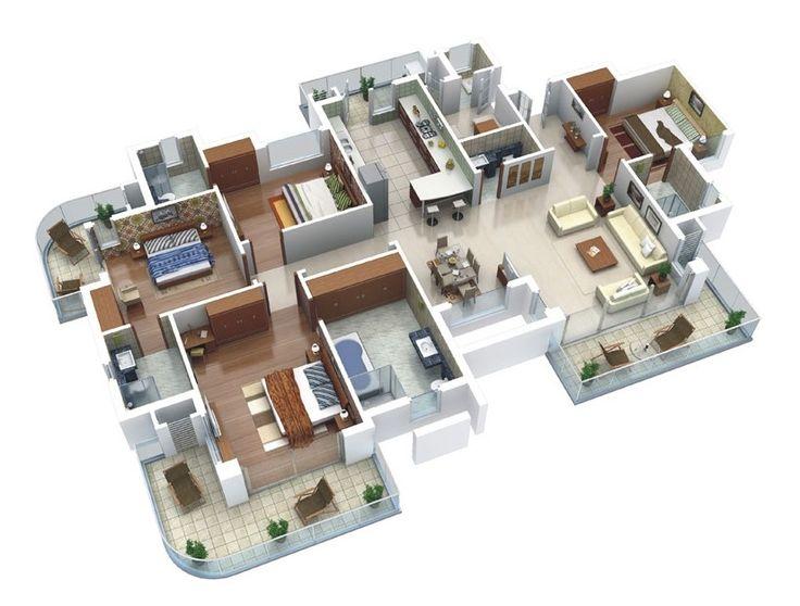 Oltre 1000 idee su planimetrie di case su pinterest for Planimetrie di case galleggianti