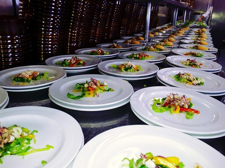 Salad, Italian Style Dining. Costa Cruises