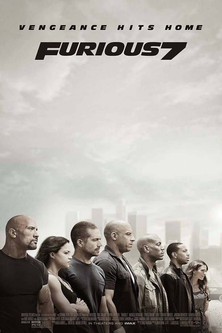 On-the-Run Movies: FAST & FURIOUS 7 (2015)