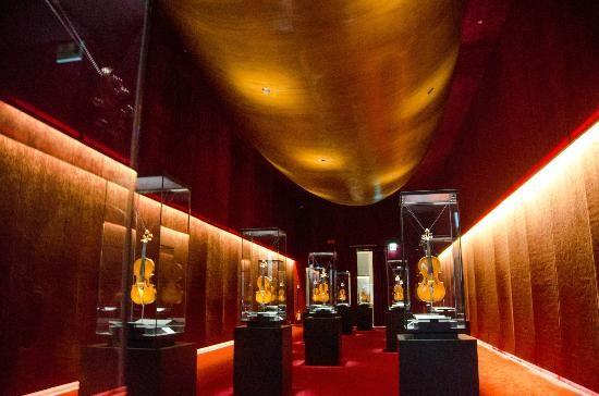 Cremona, Italy - Museo del Violino; Stradivari 1644 - 1737. Must see!