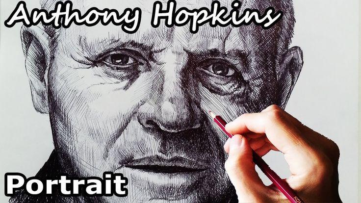 Энтони Хопкинс. Портрет
