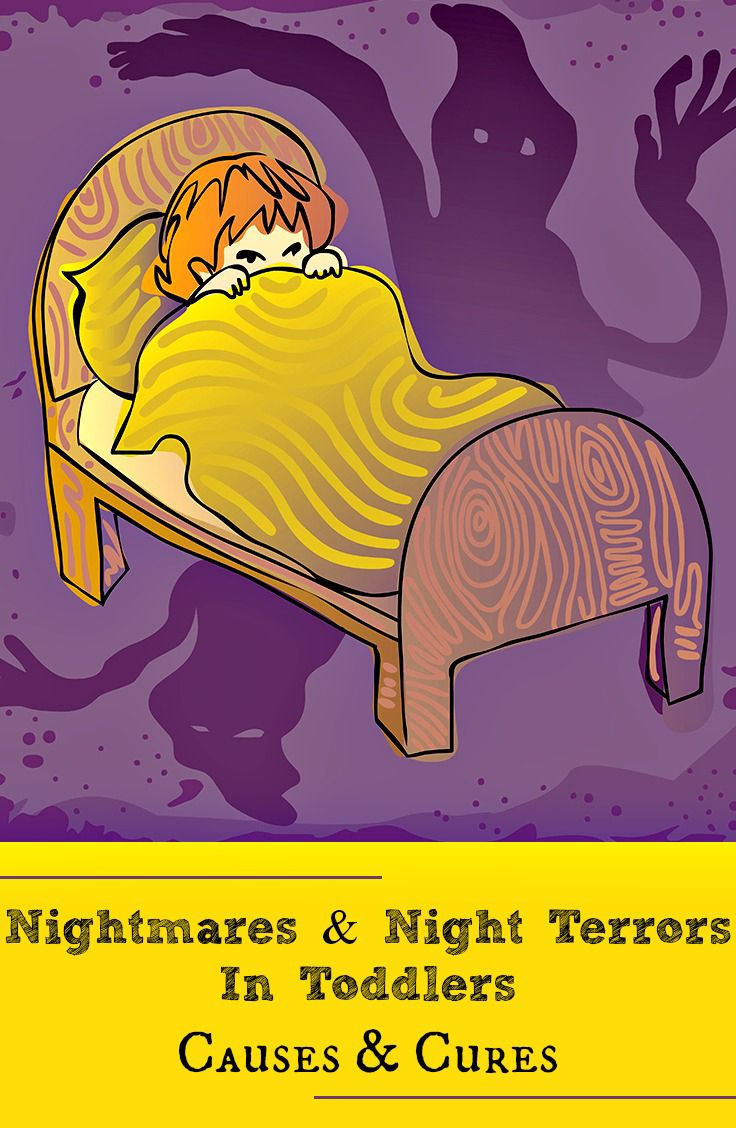 Are you concerned that your toddler may be having night terrors? Wondering what causes toddler nightmares and what to do about them? Read this post to know.