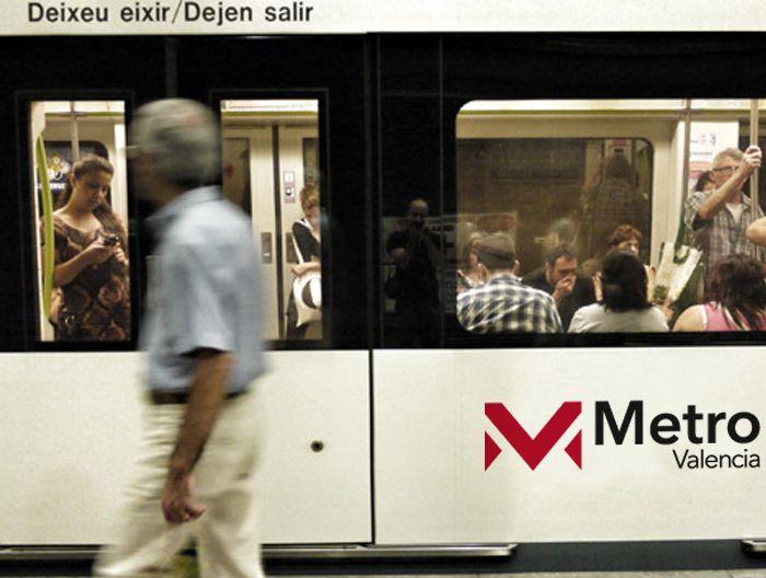 Imagen corporativa Metro de Valencia.