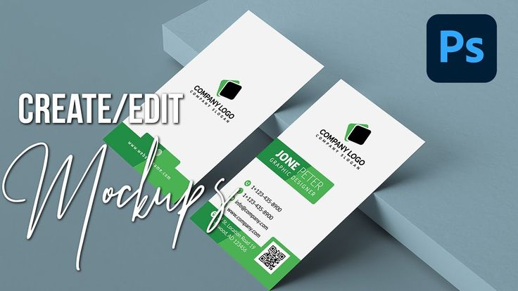 How To Create Use Mockups In Photoshop Cc Business Card Mockup Tutor In 2021 Business Card Mock Up Photoshop Photoshop Tutorial