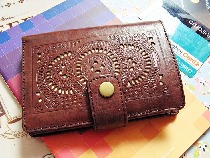 Kelimutu Continental Vintage Genuine Leather Women Wallet Ladies Purse by Astaboho on Etsy