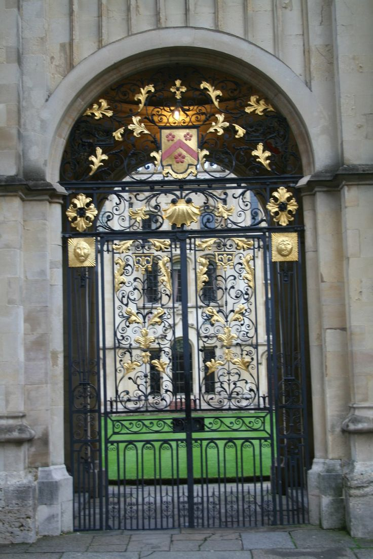 Gate into All Souls College,  Shadow Of Night, A Discovery Of Witches, All Souls Trilogy