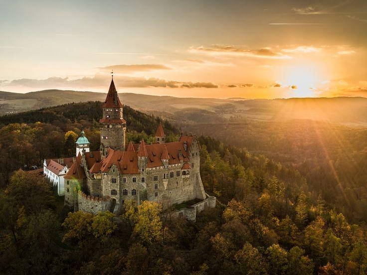 Castle Bouzov, Czech Republic.