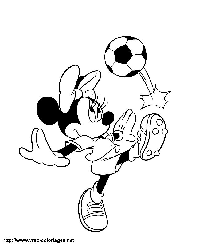 17 best images about coloriages minnie et mickey on pinterest disney coloring and coloring books - Coloriage minnie joue ...