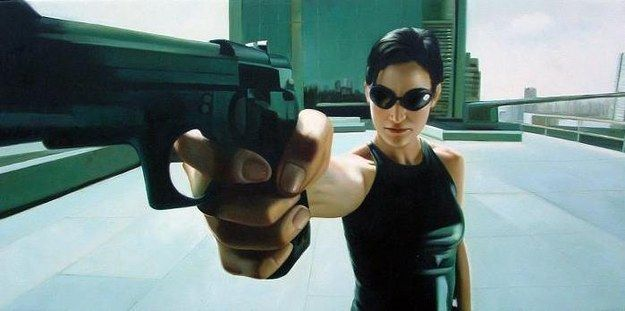 Trinity from The Matrix: You've got everything in your life under control. Your skills are through the roof, you're fierce, and you're strong. |  Which Badass Female Movie Character Are You?