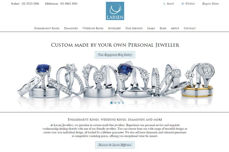 We have a brand new sparkly website! Now filled with stunning jewellery inspo, must-read engagement and wedding ring guides, tips for men, diamond and coloured gem info and so much more! Visit www.larsenjewellery.com.au!   #jewellery #sydney #melbourne #jewellers #engagementrings #diamondrings #weddingbands