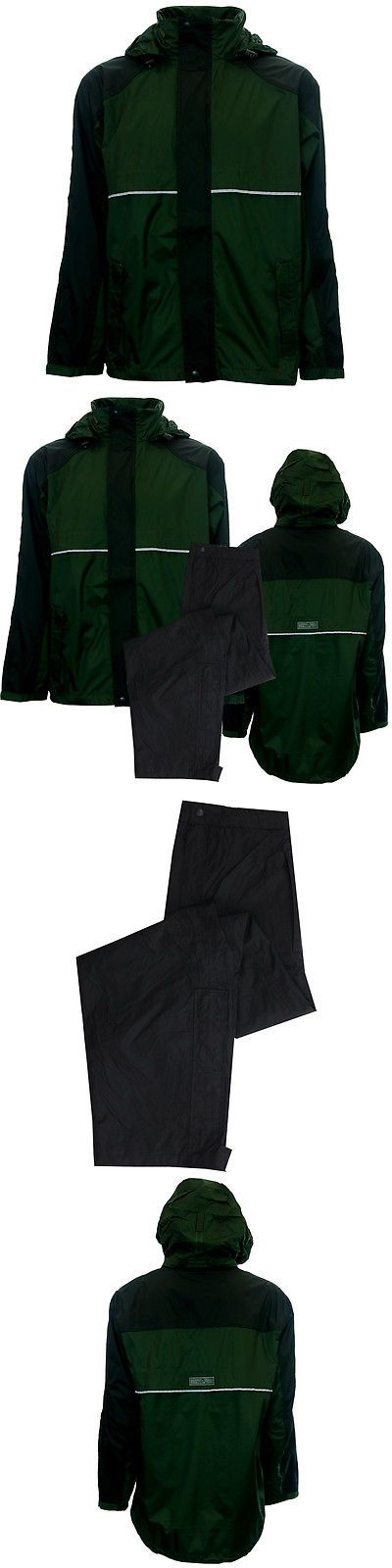 Coats and Jackets 181134: The Weather Company Mens Golf Breathable Rain Suit With Hood • Jacket And Pants BUY IT NOW ONLY: $49.99