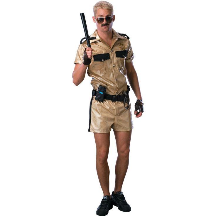 Deluxe Reno 911 Lt Dangle Halloween Costume for Men
