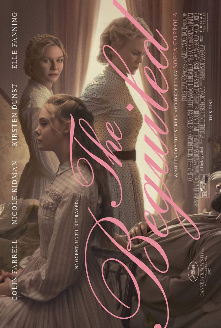 Sofia Coppola's THE BEGUILED Gets An Excellent New Poster