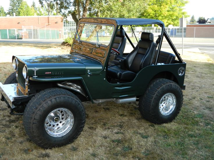 1946 JEEP WILLYS 454 complete frame off custom | Cars ...