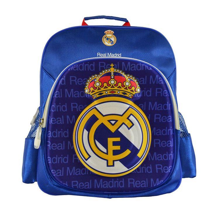 Real Madrid CF Logo Backpack, Multicolor