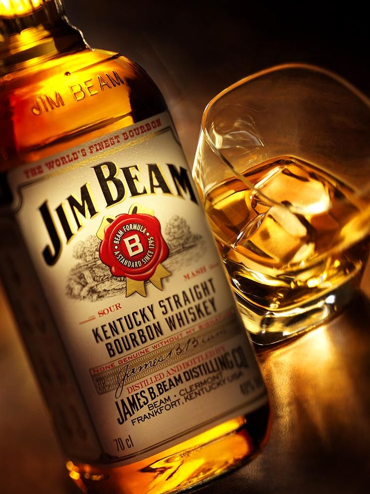 Jim Beam, Kentucky Straight Bourbon Whiskey for ME!
