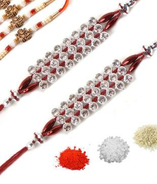 Sovam International Designer Rakhi Pack Of 7