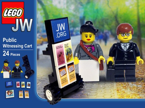Public Witnessing Cart Lego Set