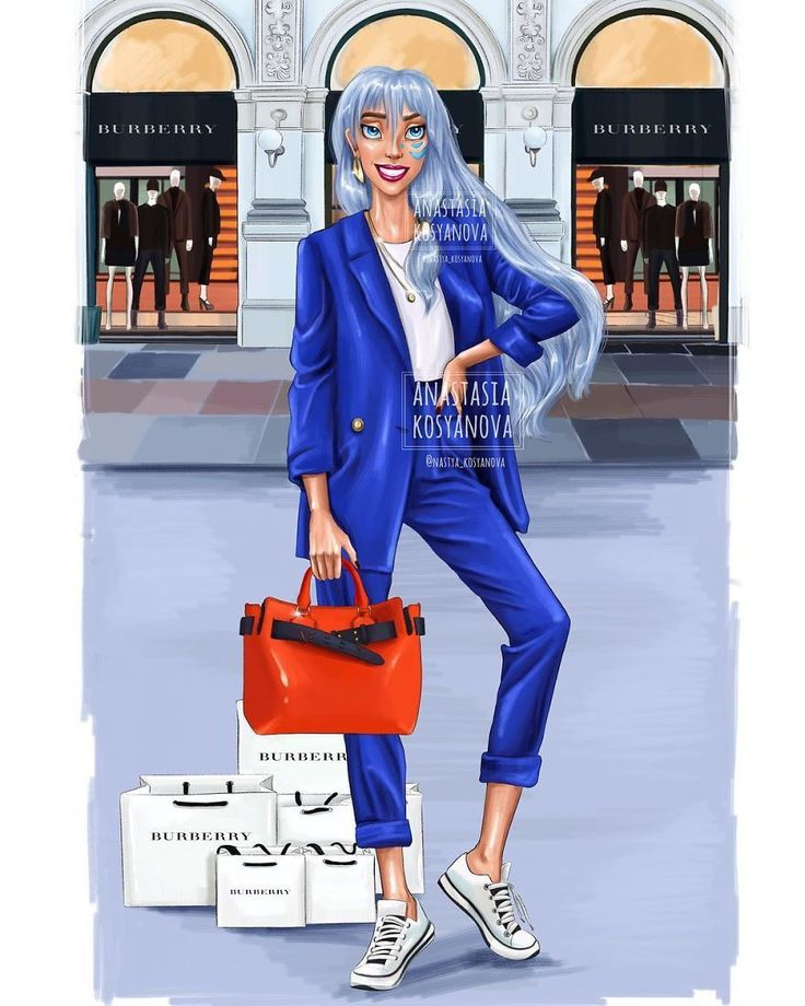 Russian Artist Illustrates How Disney Princesses Would Dazzle In Modern Luxury Brands
