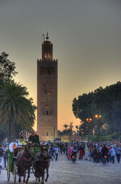 Koutoubia Mosque. Marrakesh, Morocco. http://www.lonelyplanet.com/morocco/marrakesh
