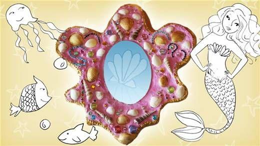 Maak doorzichtige zeepjes met glitters en een zeester!