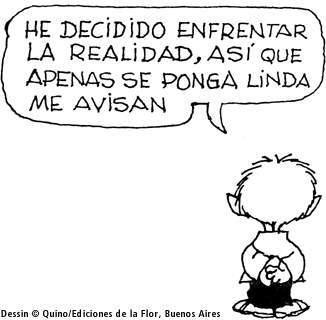 Felipe: Fue el primer amigo de Mafalda. La conoció ya que vivían en el mismo edificio. Es una persona muy imaginativa, tanto que muchas veces cree que sus sueños son reales. Gran admirador del Llanero Solitario. Es el polo opuesto, en varios aspectos, de Mafalda, y, quizá por ello, su mejor complemento.