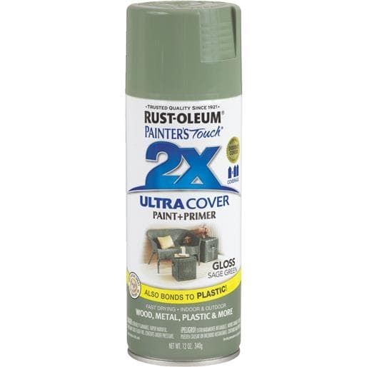 Rust-Oleum Gls Sage (Green) Spray Paint 249094 Unit: Each