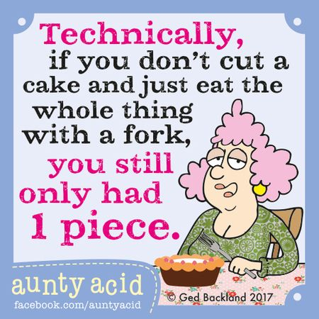 Aunty Acid by Ged Backland for Jan 12, 2017 | Read Comic Strips at GoComics.com