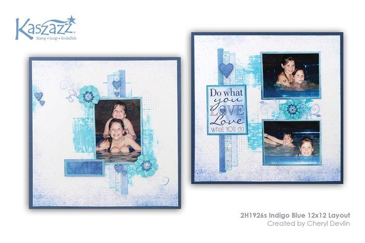 2H1926s Indigo Blue 12x12 Layout