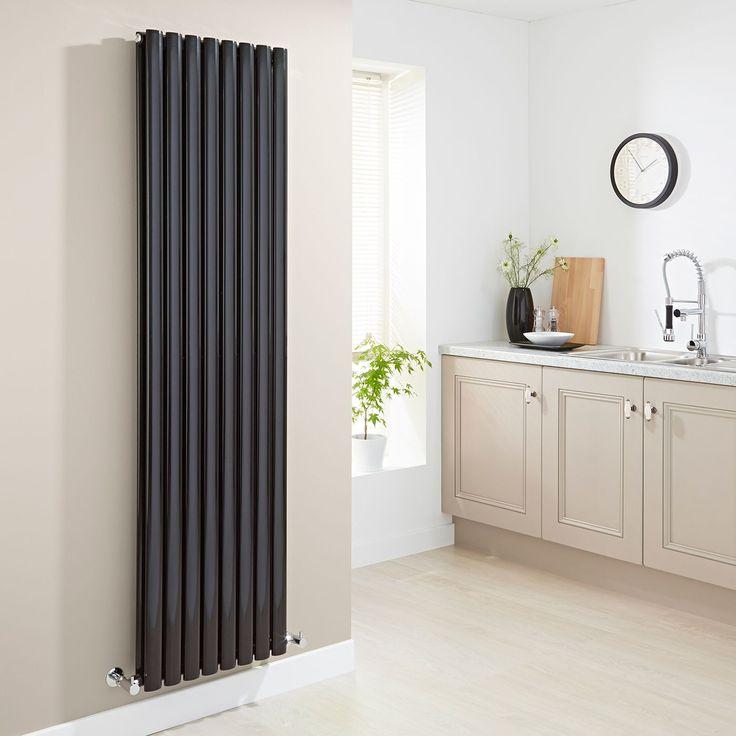 designer radiators for kitchens. Milano Aruba  Black Vertical Designer Radiator 1780mm x 472mm Double Panel The 25 best radiators ideas on Pinterest Kitchen island