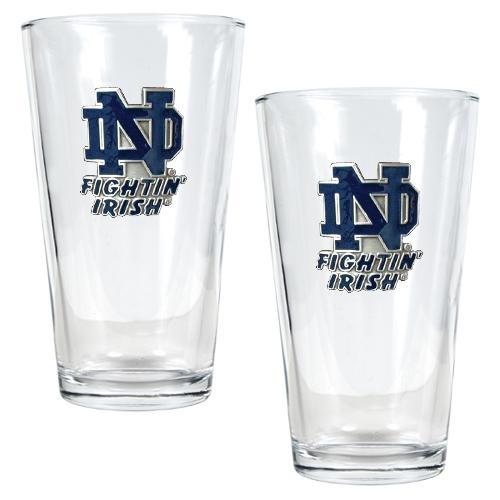 Notre Dame Fighting Irish 2pc. Pint Ale Glass Set