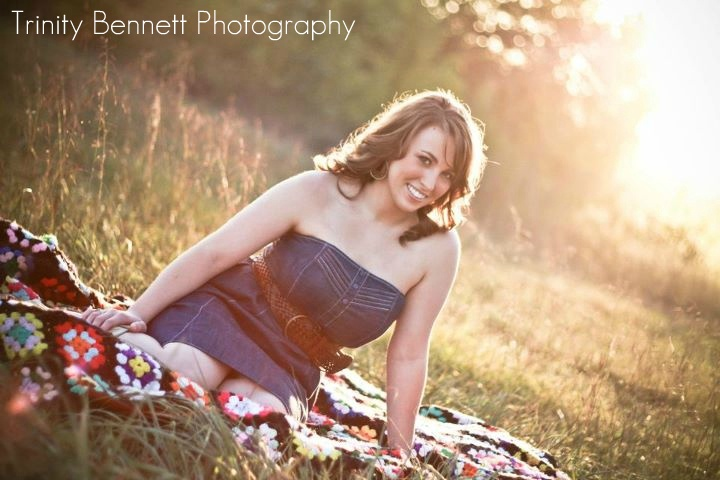 Trinity Bennett Photography- Sunset senior pictures in a field. Please go like my page- https://www.facebook.com/pages/Trinity-Bennett-Photography-and-Productions/201646339851533