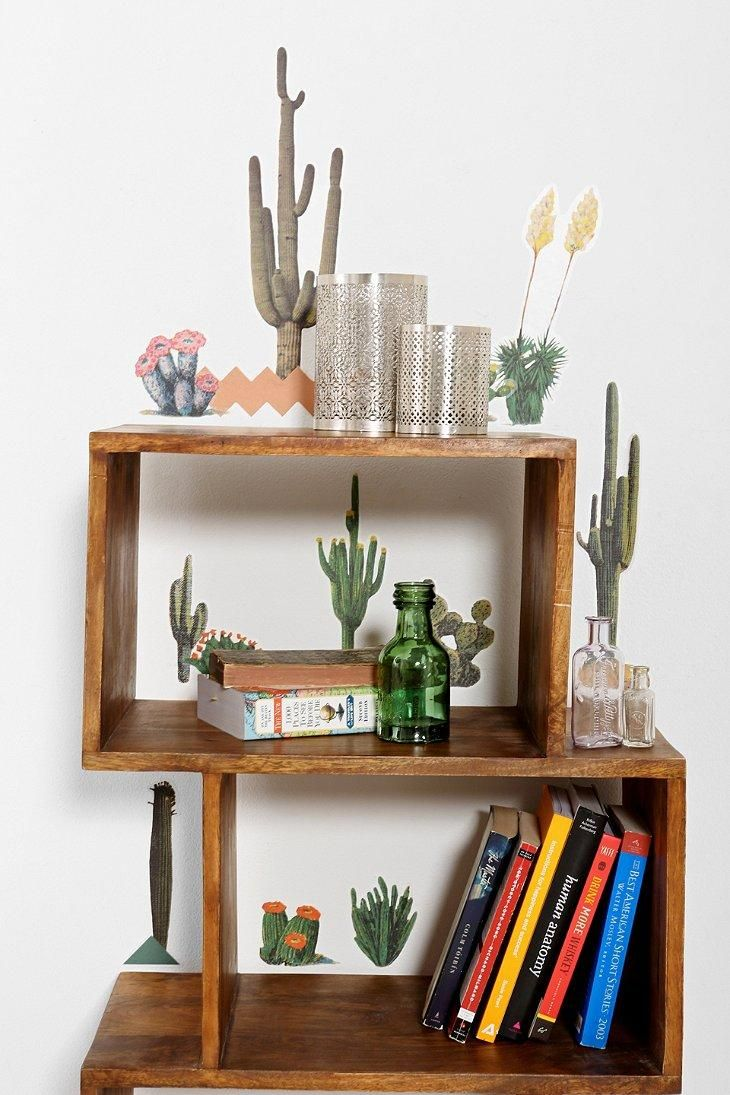 Cacti Wall Decal - Set Of 12 #urbanoutfitters