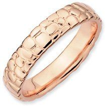 Specially Chosen Silver Stackable Pink Ring. Sizes 5-10 Available Jewelry Pot. $34.99. Fabulous Promotions and Discounts!. 30 Day Money Back Guarantee. Your item will be shipped the same or next weekday!. All Genuine Diamonds, Gemstones, Materials, and Precious Metals. 100% Satisfaction Guarantee. Questions? Call 866-923-4446