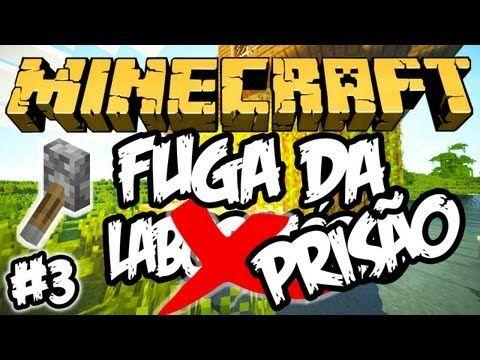 (canal- Fer0m0nas)A Alavanca Perdida! - Fuga da Prisão: Minecraft #3