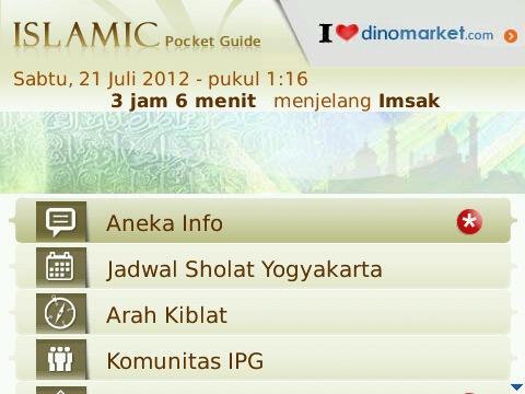 Islamic Pocket Guide - Aplikasi Panduan Islam Dengan Fitur Keren