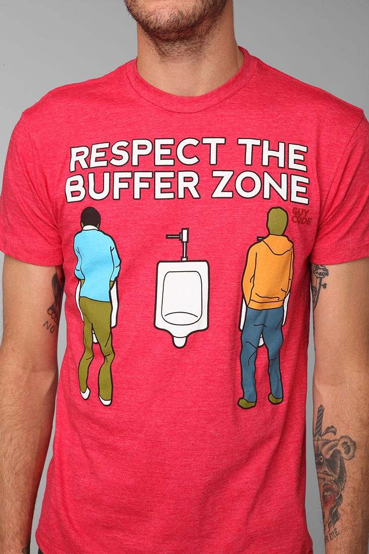 Guy Code Buffer Zone Tee