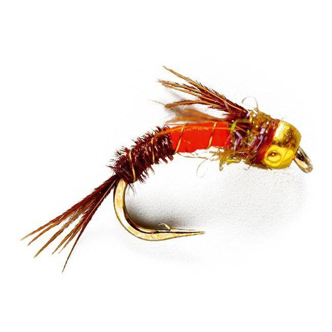 Casters Fly Shop - Hise's Hetero-genius Nymph- Orange, $2.50 (http://www.castersonlineflyshop.com/hises-hetero-genius-nymph-orange/)